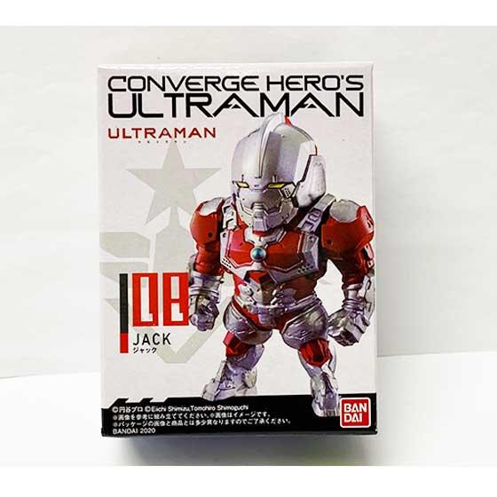 バンダイ CONVERGE HERO'S ULTRAMAN 02 08 JACK ジャック BS0306