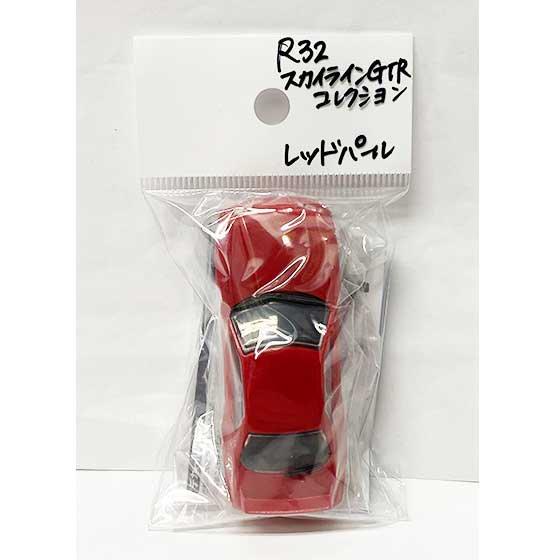 プラッツ 名車コレクションvol.3  1/64スケール R32 SKYLINE GT-R NISSAN COLLECTION レッドパール TC00749