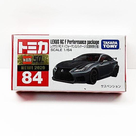 トミカ 84 レクサス RC F パフォーマンスパッケージ(初回特別仕様) TMC00775