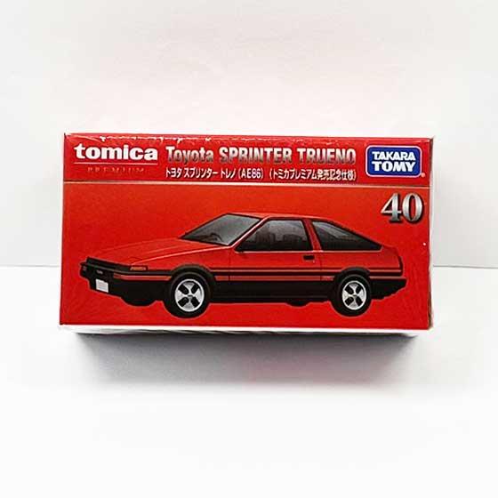 トミカプレミアム40 トヨタ スプリンター トレノ(AE86)(発売記念仕様) TMC00777