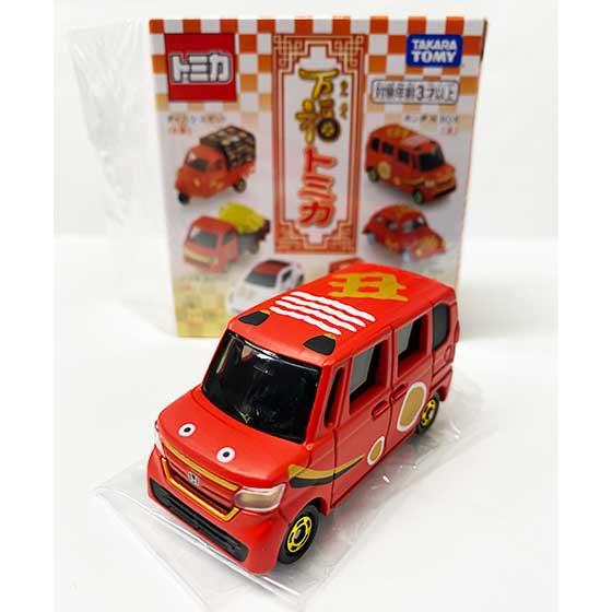 タカラトミー 万福トミカ 丑  (家内安全) :ホンダ N BOX TMC00781