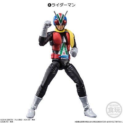 バンダイ SHODO-X仮面ライダー11 ライダーマン BS0322