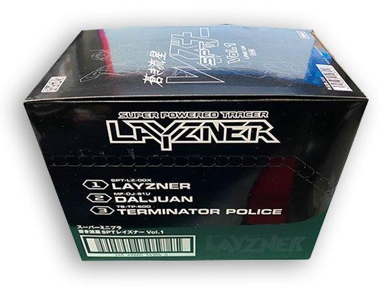 バンダイ スーパーミニプラ 蒼き流星SPTレイズナー Vol.1 全3種フルセット BS0358 4枚目