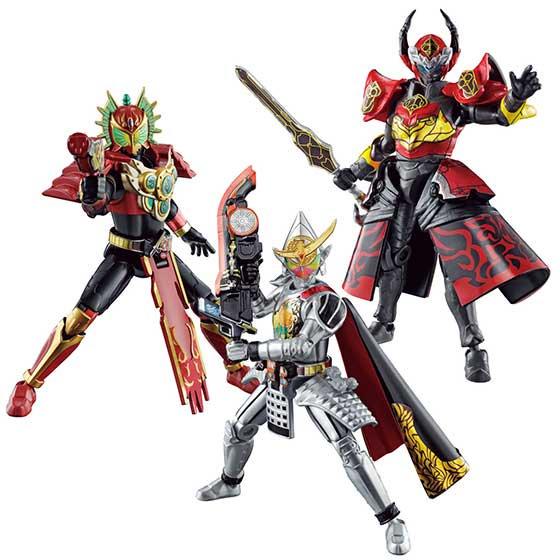 5月発売予定 バンダイ SO-DO CHRONICLE 仮面ライダー鎧武3 全8種フルセット