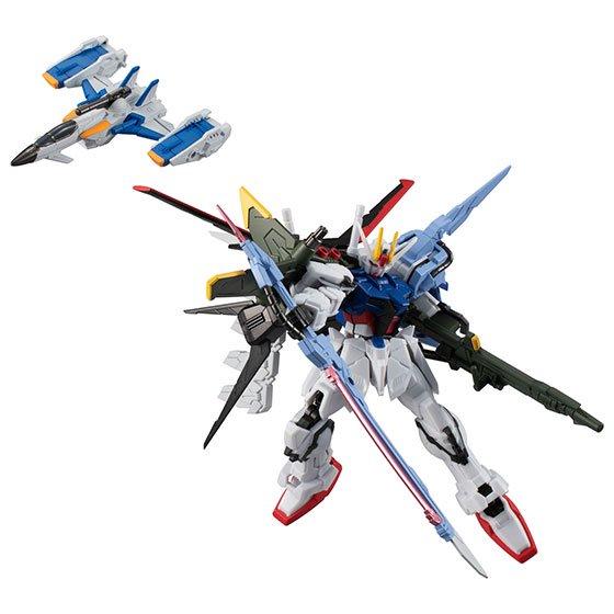 5月発売予定 バンダイ 機動戦士ガンダム Gフレーム EX03 パーフェクトストライクガンダム&スカイグラスパー