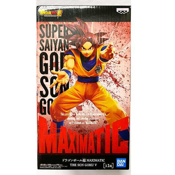 ドラゴンボール超 MAXIMATIC THE SON GOKU � 超サイヤ人ゴッド 孫悟空 DP0153