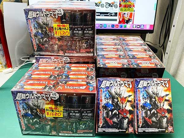 2021.03.04. 超動ウルトラマン1&ガンダムマイクロウォーズ セット、単品再入荷!