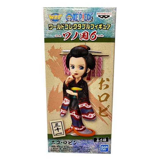 ワンピース ワールドコレクタブルフィギュア ワノ国6 ニコ・ロビン OPZ0265