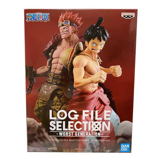 ワンピース LOG FILE SELECTION -WORST GENERATION- vol.1 モンキー・D・ルフィ OPZ0269