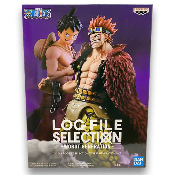 ワンピース LOG FILE SELECTION -WORST GENERATION- vol.2 ユースタス・キッド OPZ0274