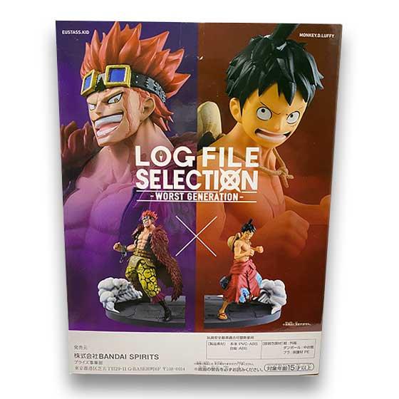 ワンピース LOG FILE SELECTION -WORST GENERATION- vol.2 ユースタス・キッド OPZ0274 1枚目