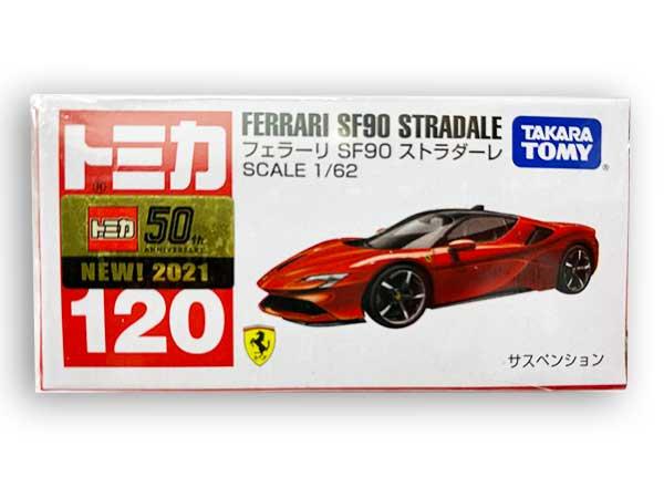 トミカ 120 フェラーリ SF90 ストラダーレ