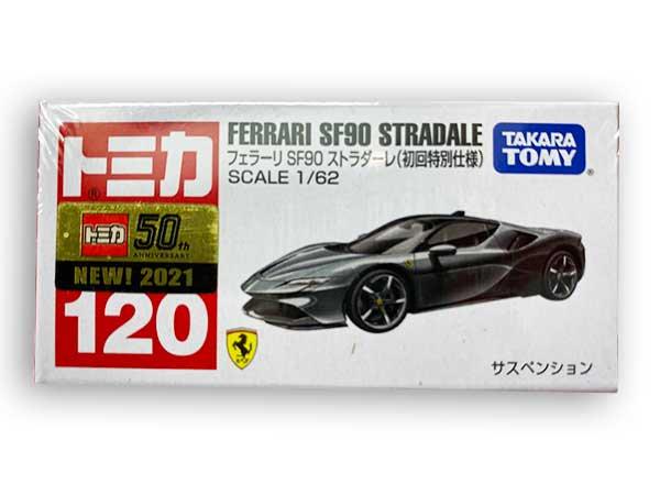 トミカ 120 フェラーリ SF90 ストラダーレ(初回特別仕様) TMC00810
