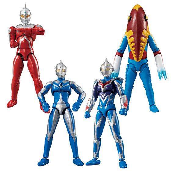 7月発売予定 バンダイ 超動ウルトラマン9 全5種フルセット