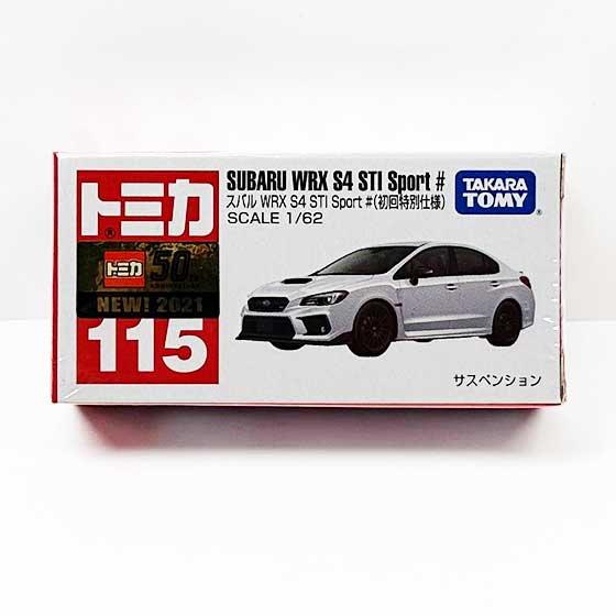 トミカ 115 スバル WRX S4 STI Sport #(初回特別仕様) TMC00819