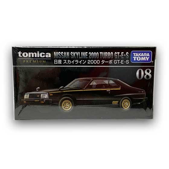 トミカプレミアム08 日産 スカイライン 2000 ターボ GT-E・S TMC00825