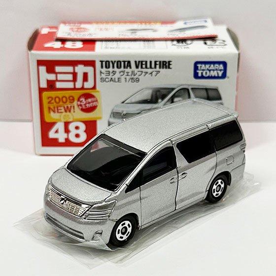 トミカ 48 トヨタ ヴェルファイア(新車シール付) TMC00856