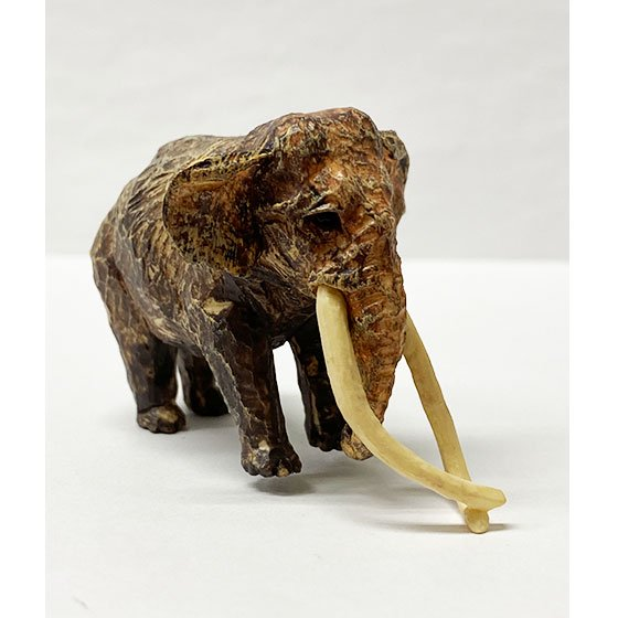 キタンクラブ ART IN THE POCKET はしもとみおの彫刻 動物園のなかま インドゾウ(金沢動物園) TC01173