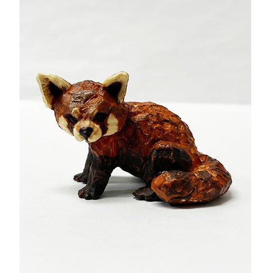 キタンクラブ ART IN THE POCKET はしもとみおの彫刻 動物園のなかま レッサーパンダ (野毛山動物園)  TC01174