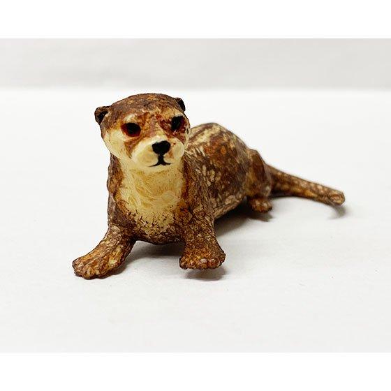 キタンクラブ ART IN THE POCKET はしもとみおの彫刻 動物園のなかま コツメカワウソ (福岡市動物園) TC01175