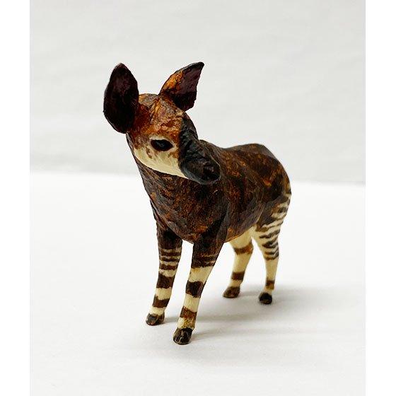 キタンクラブ ART IN THE POCKET はしもとみおの彫刻 動物園のなかま オカピ (よこはま動物園ズーラシア) TC01177