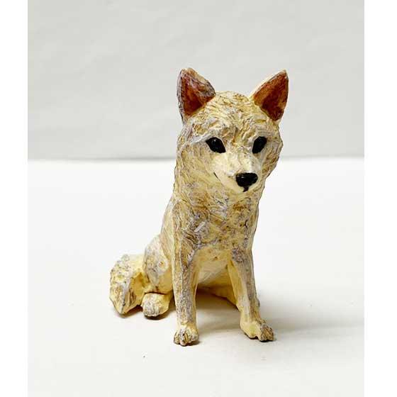 キタンクラブ ART IN THE POCKET はしもとみおの彫刻 那須どうぶつ王国 ホッキョクオオカミ TC01203