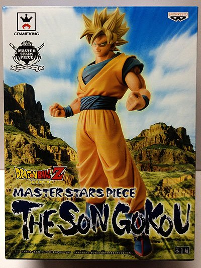 ドラゴンボールZ MASTER STARS PIECE THE SON GOKOU ー孫悟空ー DP0014