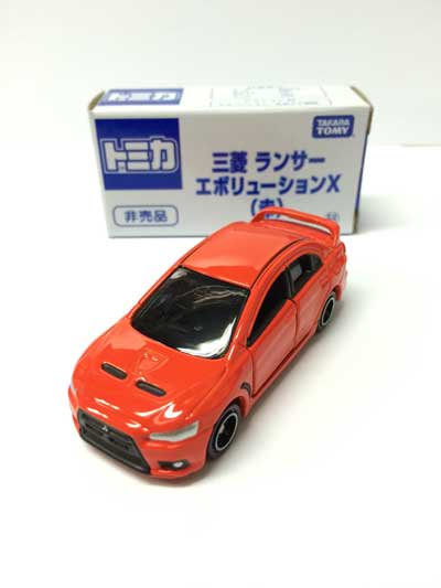 トミカ博2015 三菱ランサー エボリューションX(赤) TMC00057