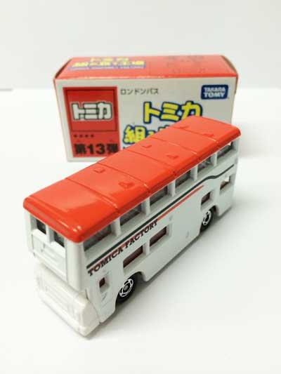 トミカ組み立て工場 第13弾 ロンドンバス(赤) TMC00332