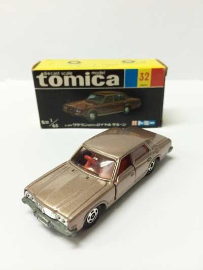 トミカ 32 トヨタ クラウン2600ロイヤルサルーン 黒箱 TMC00527