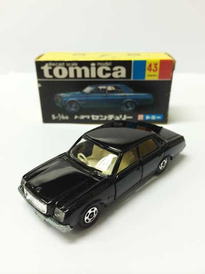 トミカ NO.43 トヨタ センチュリー 黒箱