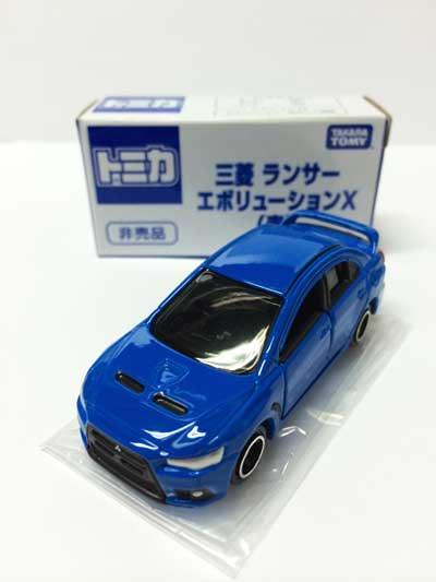 トミカ博2015 三菱ランサー エボリューションX(青) TMC00056