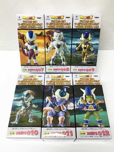 ドラゴンボール超 ワールドコレクタブルフィギュア  FREEZA SPECIAL vol.2 全6種フルセット dw00001