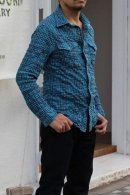 <img class='new_mark_img1' src='https://img.shop-pro.jp/img/new/icons24.gif' style='border:none;display:inline;margin:0px;padding:0px;width:auto;' />【 Fab Garden 】 CHECK WESTERN SHIRT