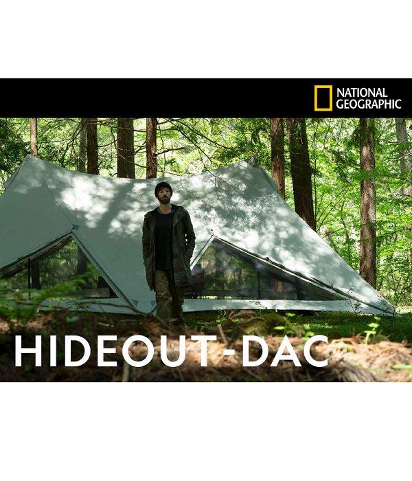 【鎌倉天幕 NATIONAL GEOGRAPHIC】 HIDEOUT-DAC(ポールセット)