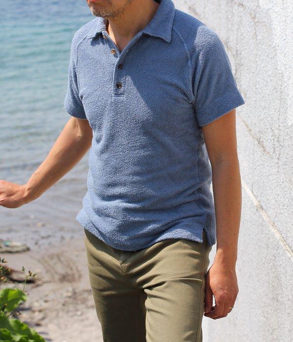 【 Fab Garden 】BEACH PILE POLO SHIRT