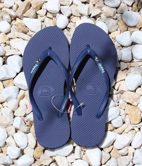 Fipper beach sandals  GLITTER