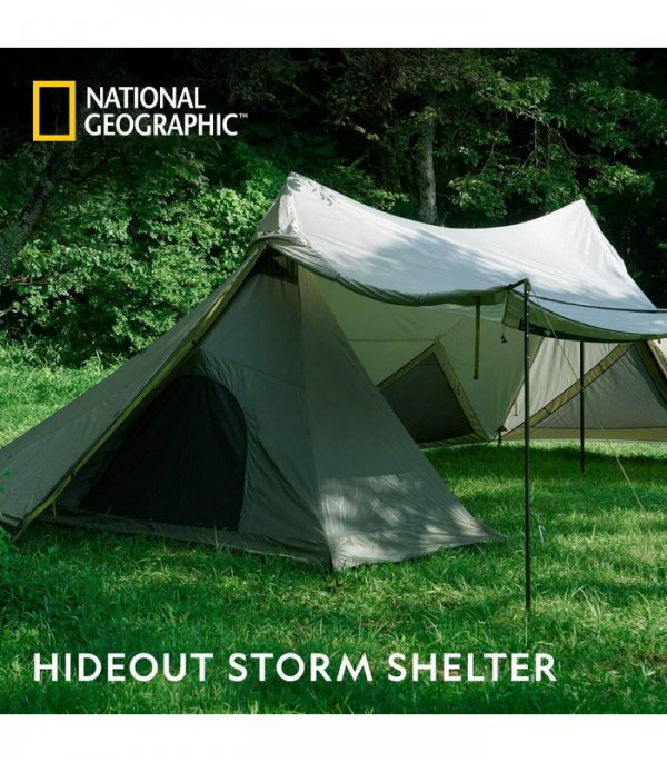 <img class='new_mark_img1' src='https://img.shop-pro.jp/img/new/icons5.gif' style='border:none;display:inline;margin:0px;padding:0px;width:auto;' />【NATIONAL GEOGRAPHIC】 HIDEOUT STORM SHELTER