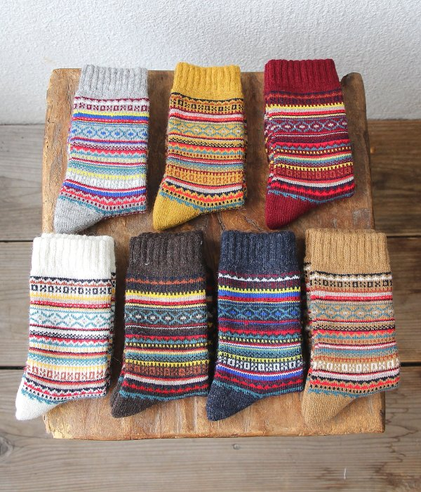 <img class='new_mark_img1' src='https://img.shop-pro.jp/img/new/icons5.gif' style='border:none;display:inline;margin:0px;padding:0px;width:auto;' />H FOOTWEAR WOOL FAIR ISLE