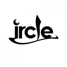 ircle_防水ロゴステッカー_ブラック