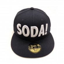 SODA!×NEW ERA コラボキャップ