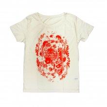 la la larks_flower print Tshirt