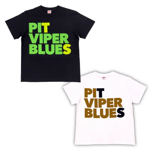 T字路s_PIT VIPER BLUES Tシャツ