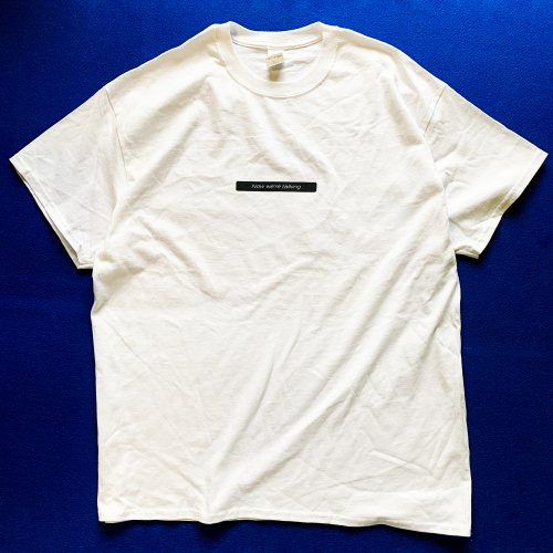"[販売終了]CRCK/LCKS_""Now we're talking""  Tシャツ"