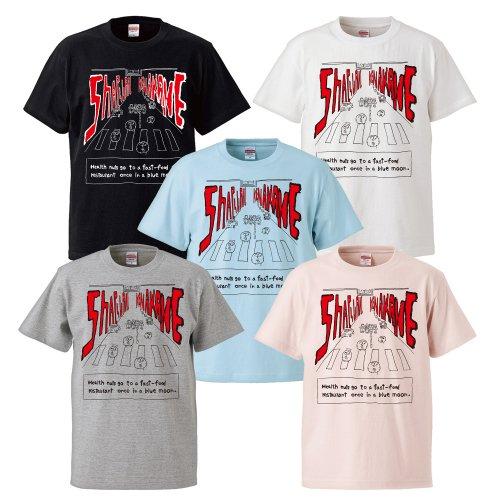 奢る舞けん茜_赤丸Tシャツ