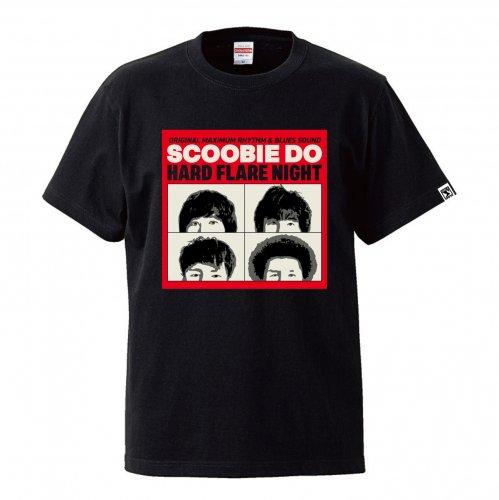 Scoobie Do_『HARD FLARE NIGHT』FUNKY4 Tシャツ