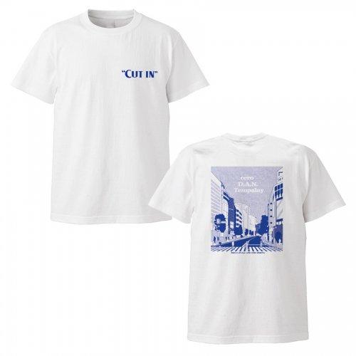 """第15回 渋谷音楽祭 2020 presents""""CUT IN""""_ロゴTシャツ"""