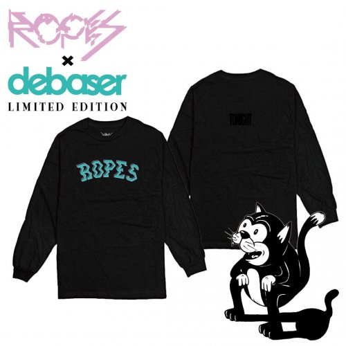 [受付終了]ROPES × debaser Sway College Logo L/S