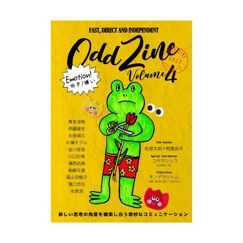 Scoobie TWO_『ODD ZINE vol.4』(文芸誌)