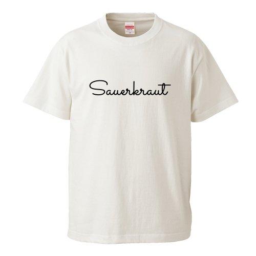 Scoobie TWO_Sauerkraut Tシャツ(バニラホワイト)